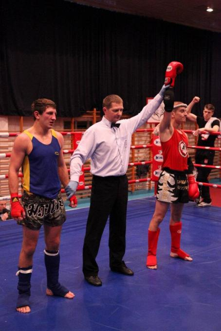 Polish Muaythai League - Victory for the red corner