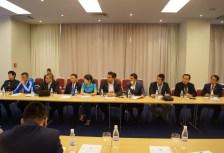 Members at the meeting