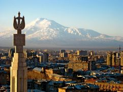 A view of Mount Ararat