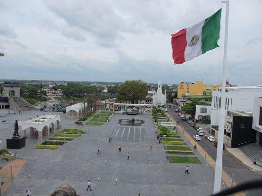 Villahermosa_Plaza de Armas