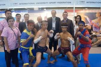 International University Sport Federation booth3