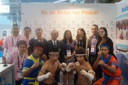 Peace & Sport booth3