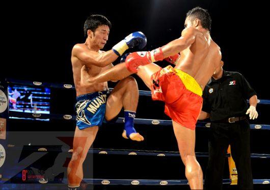 1. 1st Semi Finals Super 4, 57 kg, Okbae Moon vs Ali Yaakob