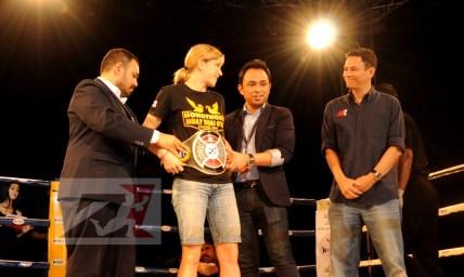5. Z1 Female Champion, 56kg,Miriam Muay Farang