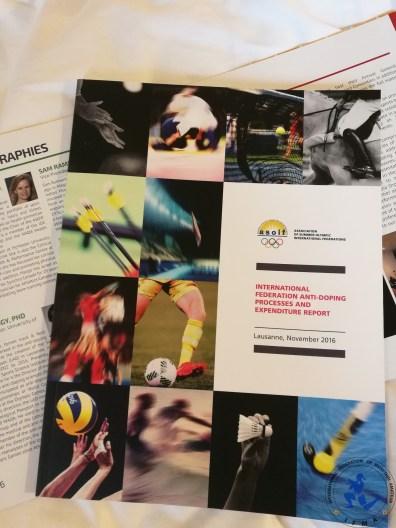 2015 ASOIF Anti-Doping Report