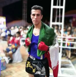 Masoud Minaei - Iran - 71kg !! #ifmamuaythai 🌟
