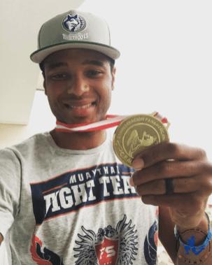 Troy Jones - USA - 75kg !! #ifmamuaythai 🌟