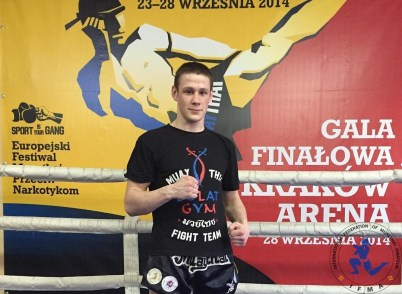 Mikita Shostak - Belarus - 81kg!! #ifmamuaythai 🌟