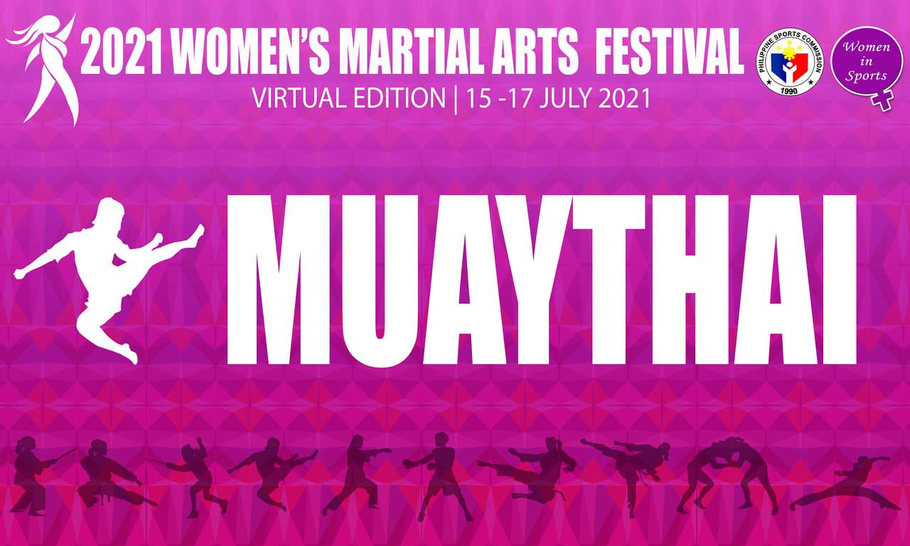 MAP Stamps the Virtual Grid with Muaythai Virtual Competition in Celebration of the Philippines Sports Commission Women's Martial Arts Festival