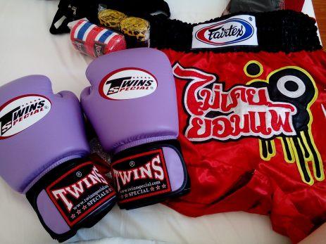 My Muay Thai gear haul <3