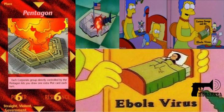 ایبولا در کارتون ها