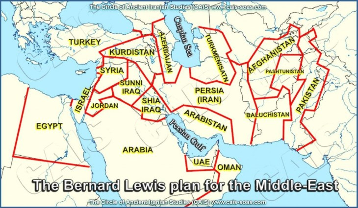 THE BERNARD LEWIS PLAN FOR THE MIDDLE-EAST