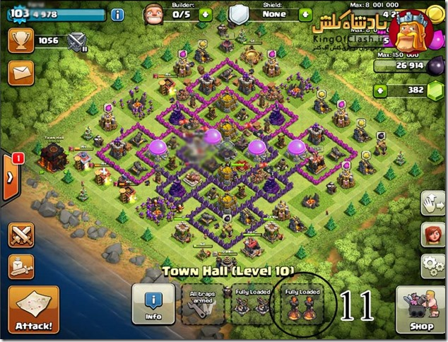 clash of clans satan 10