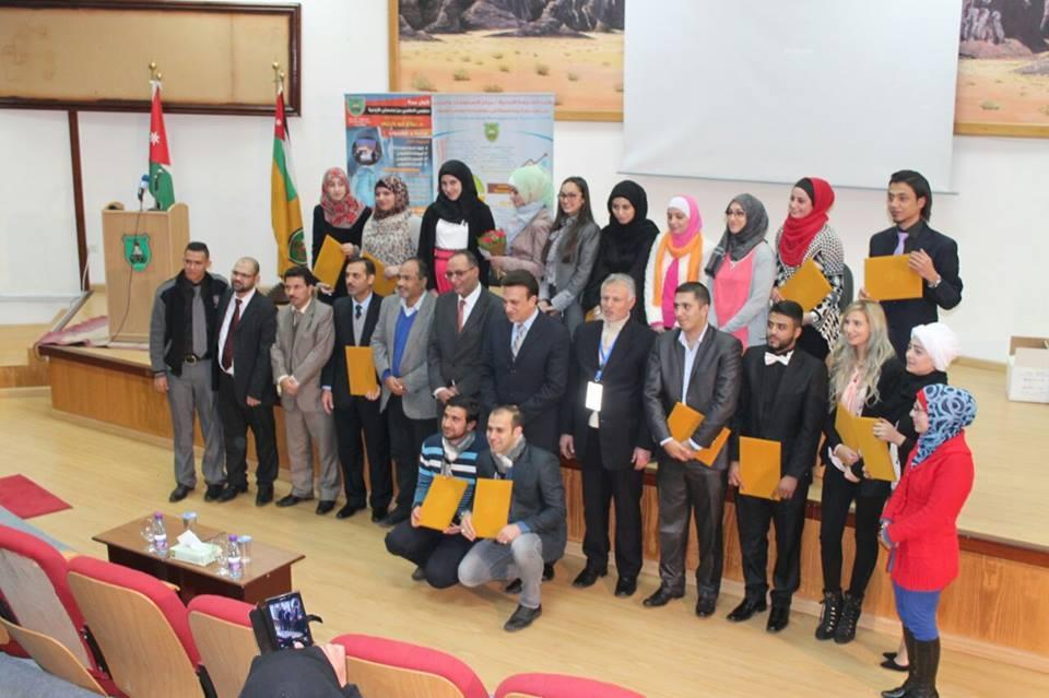 حفل تخريح طلبة دبلومي الاعلامي من جامعتي الأردنية