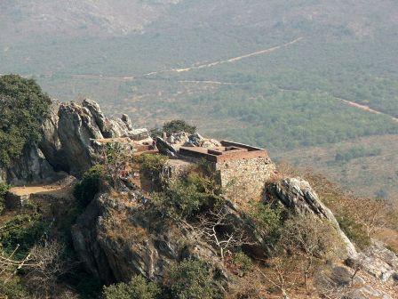 Monte Gridhrakuta em Rajagriha