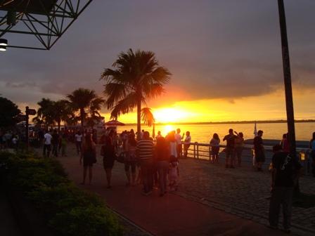 Pôr do Sol em Belém