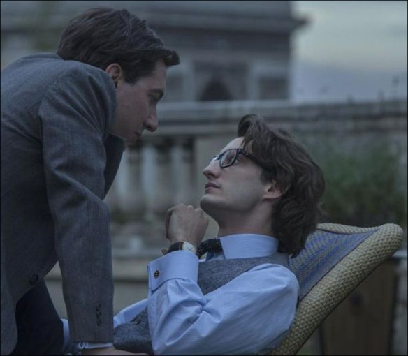 Guillaume Gallienne and Pierre Niney