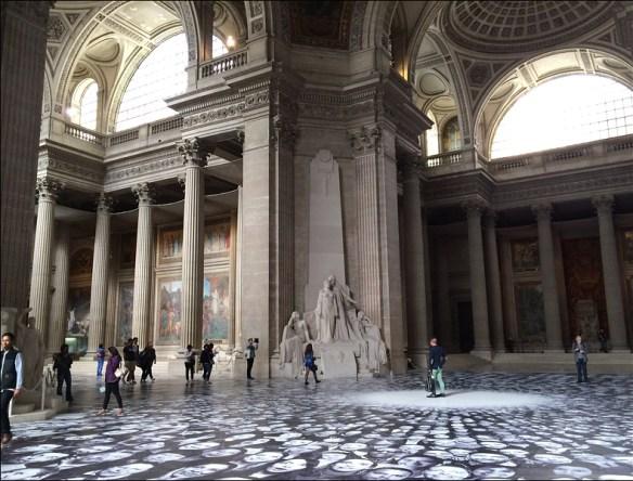Interior, Panthéon; pic: Cynthia Rose