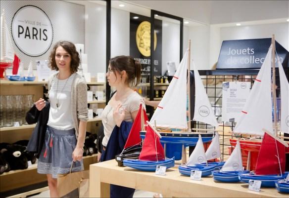 Paris Rendez-Vous boutique; pic: Mairie de Paris
