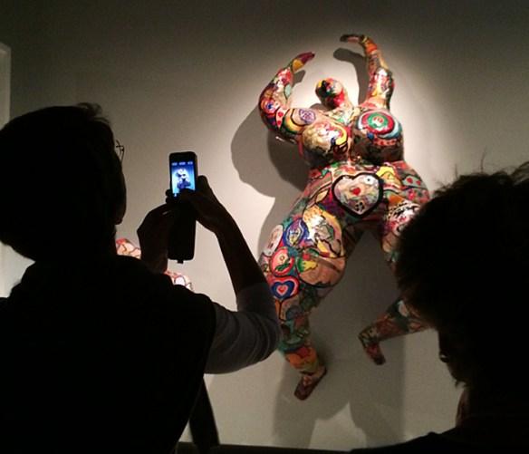 Nana, Niki de Saint Phalle; pic: Cynthia Rose