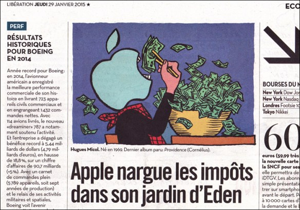 Business news, pic by Hugues Micol