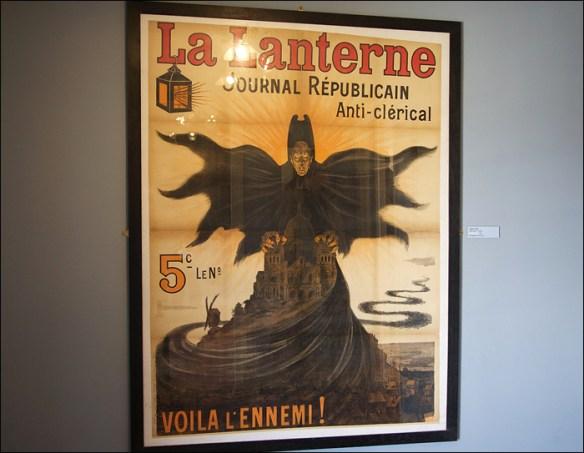 A real anti-religious journal; Musée de Montmartre