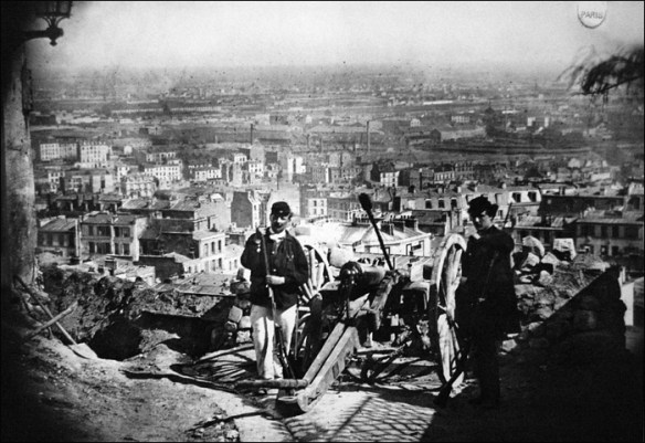 Montmartre's Montmartre Communards ready to fight; Musée de Montmartre