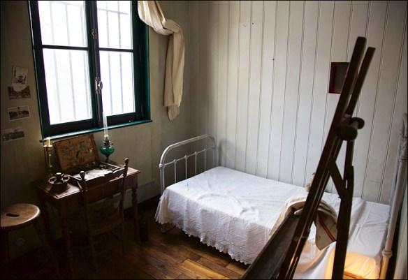 Maurice Utrillo's fromer room; pic: Steve Sampson