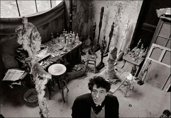 Albert Giacometti by Robert Doisneau