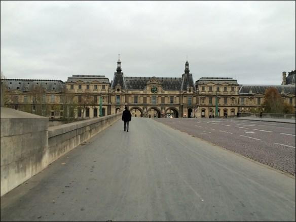 Pont du Carrousel, 3.30 p.m.