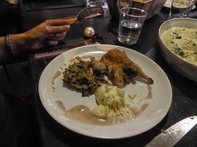 Christmas dinner at La Cuisine