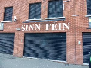 Sinn Fein headquarters on Falls Road