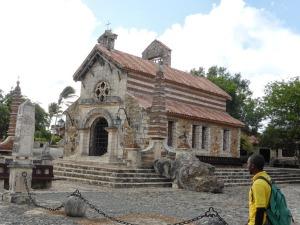 The church at Altos de Chavon
