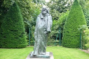Rodin's rendition of Balzac, 1897