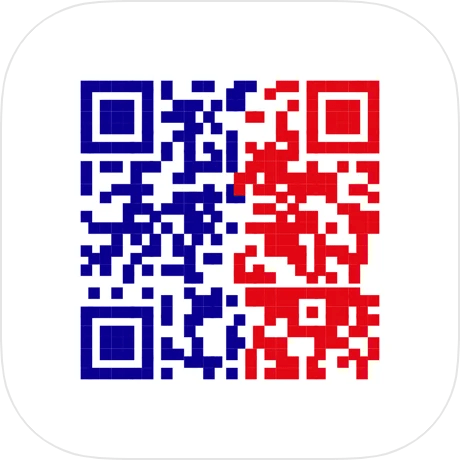 QR code icon for the French anti covid app