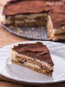 Chocolate With Marie Biscuits and Mascarpone Cream Cake, very simple & less than 10 ingredients. Easy and fast recipe.