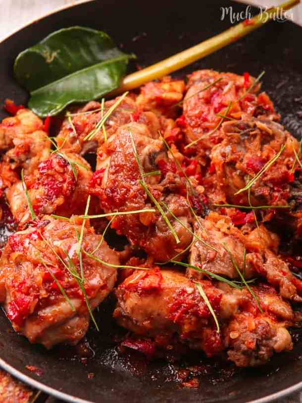 Indonesian Spicy Chicken Ayam Rica Rica Much Butter