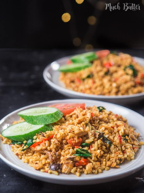 Nasi Goreng or fried rice is one of Indonesia's national cuisines. Nasi goreng is second place on the list of '50 Most Delicious Foods in the World' after rendang.