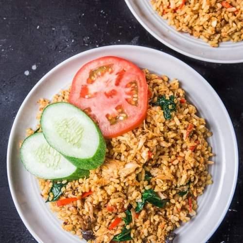 Nasi Goreng Indonesian Fried Rice