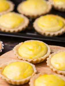 Mini cheese tart is a copycat of famous brand Hokkaido Baked Cheese Tart. Inspired by the distinct cheesy taste of Hokkaido dairy and using a traditional recipe from Japan's dairy heartland.