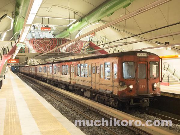 旧丸ノ内線500系車両