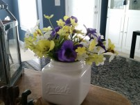 Here are the pansies and other yellow & white flowers I purchased
