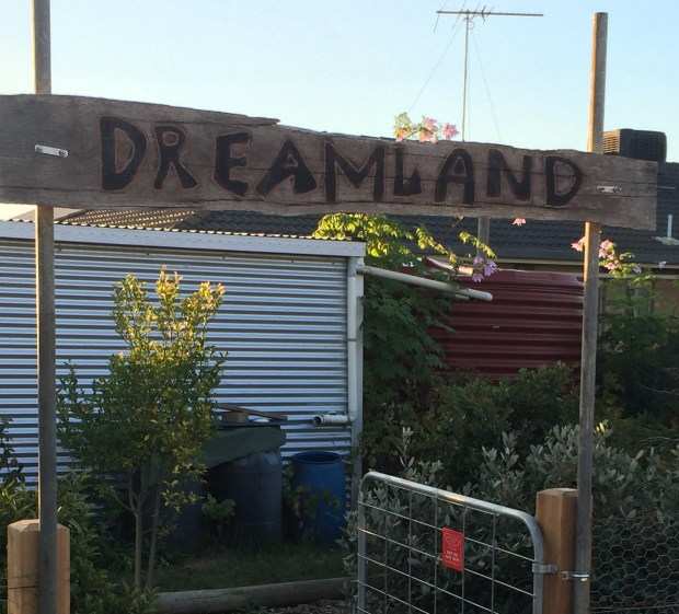 Dreamland gate