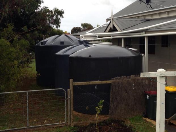 Water tanks at 78kl