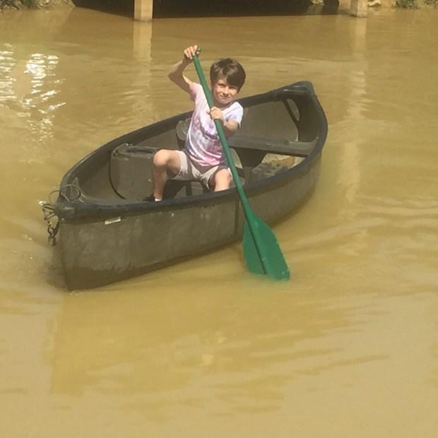 Frannys kayaking