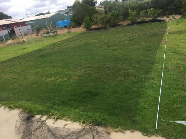 Net - footbal field