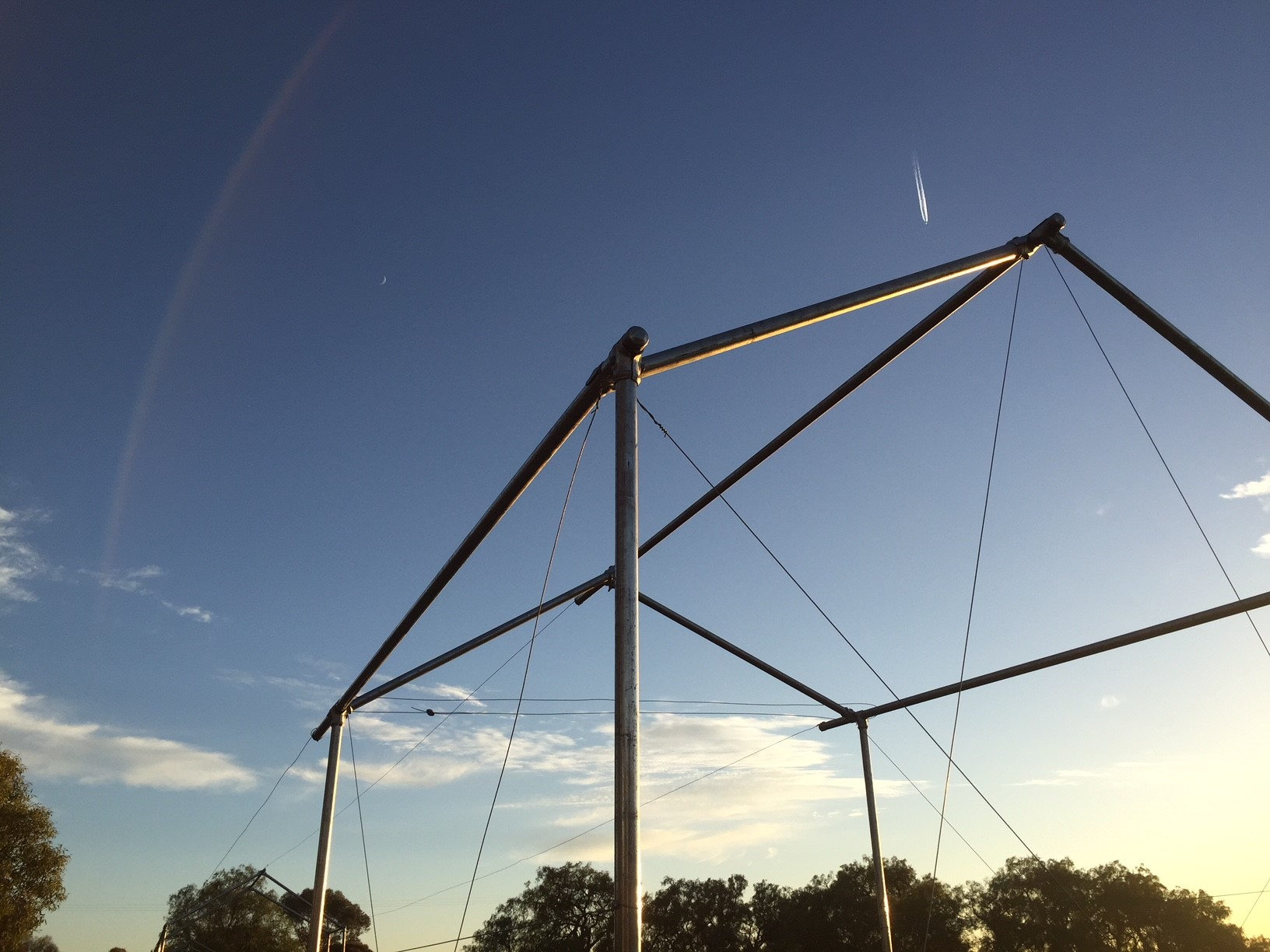 Nets – wire anchored frame