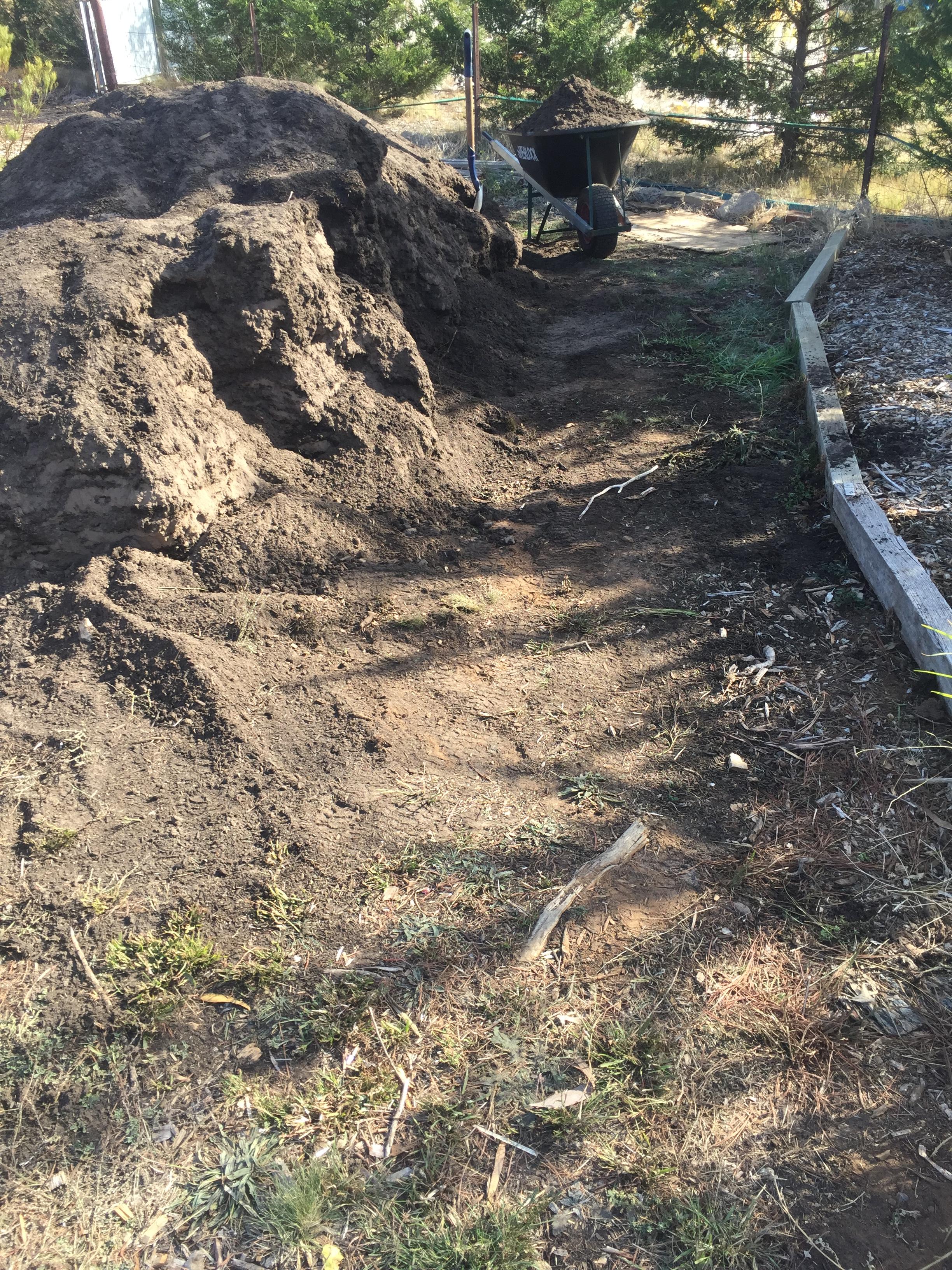 Path – topsoil