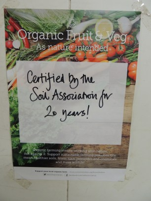 Organic certfication