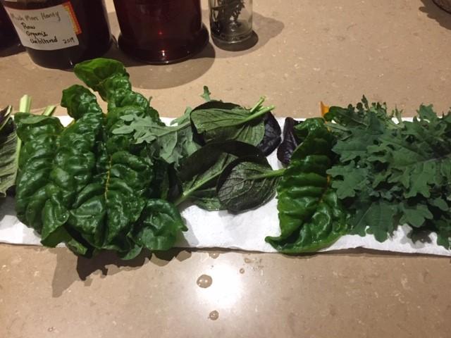 Veg upd – greens